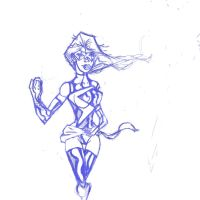 ms marvel pencils by danny2069