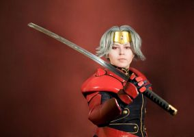 Escaflowne: Dilandau cosplay by alberti