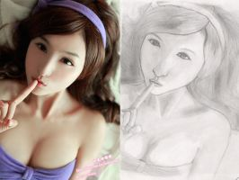Model: Lin Ketong by Blackdragon0145