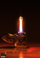 Speedpaint - In the flame by danielbogni