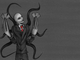 Slenderman by takamodraws