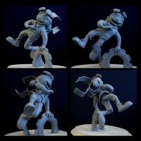 Alex Maquette by Robo-Shark