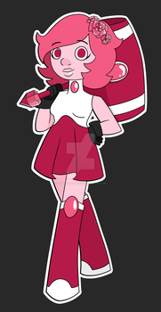 Rhodonite Gemsona by Misskitkatmadness