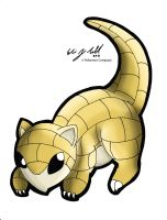 Sandshrew by clairxi