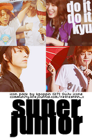 27 Super Junior Icons by ohmyjongwoon