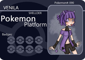 Pokemon Platform - Shellder by Gurinn