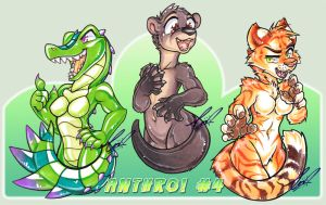 Anthro 4th Set preview by carnival