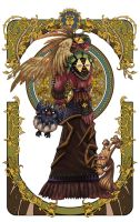 wow fan art page 2-2 by Angju