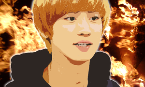 Chanyeol Vector Popart by KpopGurl