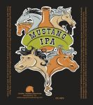 Mustang IPA Label by copperrein