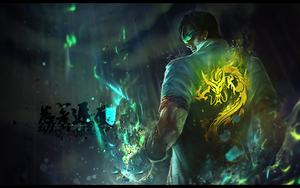 Lee Sin LoL Signature by Gpof7