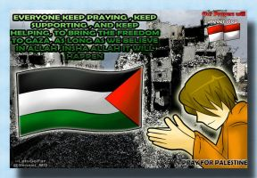 Pray for Palestine by LetsGoFar