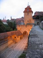Rothenburg ob der Tauber 5 by nathies-stock