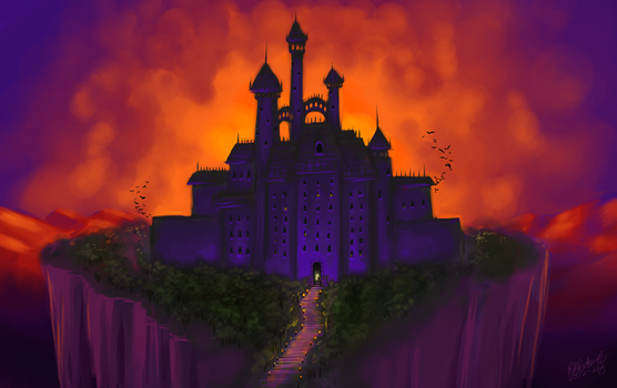 The Spook Chateau by PumpkinBat