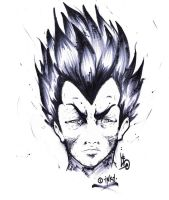 Vegeta - art by iNKD by original-inkd