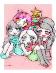Christmas gift: The gangs here by Danielle-chan