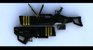 ISDF Pulse Rifle by NoStr0m0