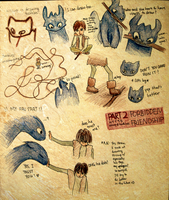 HTTYD Hiccup + Toothless PART2 by vivsters