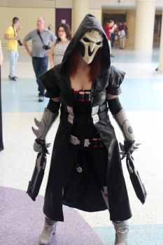 Female Reaper (Overwatch) Cosplay by AllyCatastrophe