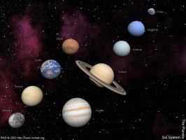 Solar System The Planets by swarfega