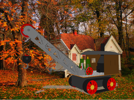 Steam Crane for MMD by Tonypilot