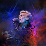 Billy idol on stage by cylevie