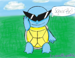 Squirtle by EnzanBlues456