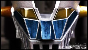Mazinger Z Face by Gersith
