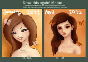 Meme: Before and After by SissiSaysHi