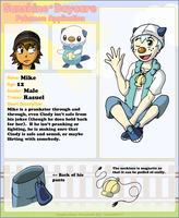 SD Pokemon -- Mike by SOAMan