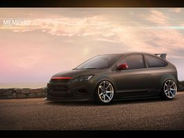 Ford Focus Matte by memphisdesign