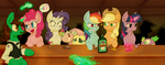 Six mares walk into a bar... by HavikM66