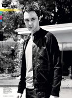 Jim Parsons in Maxim by Ninaavdeenko