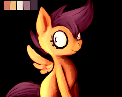 Speed painting Scootaloo by Spanish-Scoot