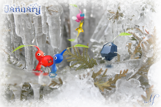 The Pikmin Project: January by SunsetSovereign