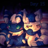 Day 15 - Favorite Psychic Type by Mikoto-chan