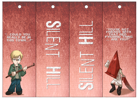 Silent Hill Bookmarks 04 by Dezfezable