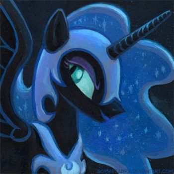 Square Series - Nightmare Moon by SpainFischer