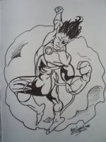 Nightcrawler ink by papabear7