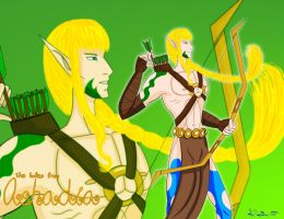 TTFA Sleuth god of Hunting and Martial Arts by Danitheangeldevil