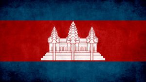 Cambodia Grunge Flag by SyNDiKaTa-NP