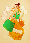 mermaid hazu by hazumonster