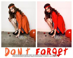 Don't Forget Action by BieberDream