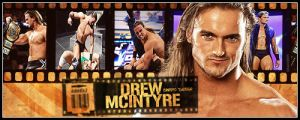 Drew McIntyre Banner by Cre5po