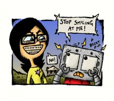 WIFL Yuki Vs Robby the Robot by stuartmcghee