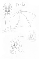MLP OC: Batty Bat by tymime