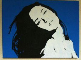 Pop Art Megan Fox by LeyuArt