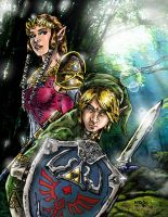 The Legend of Zelda by bacchus007