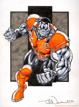 Colossus: Cable and the X-Force by ToddNauck