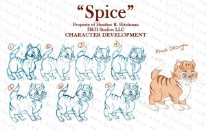 Spice Character Development by HeatherHitchman